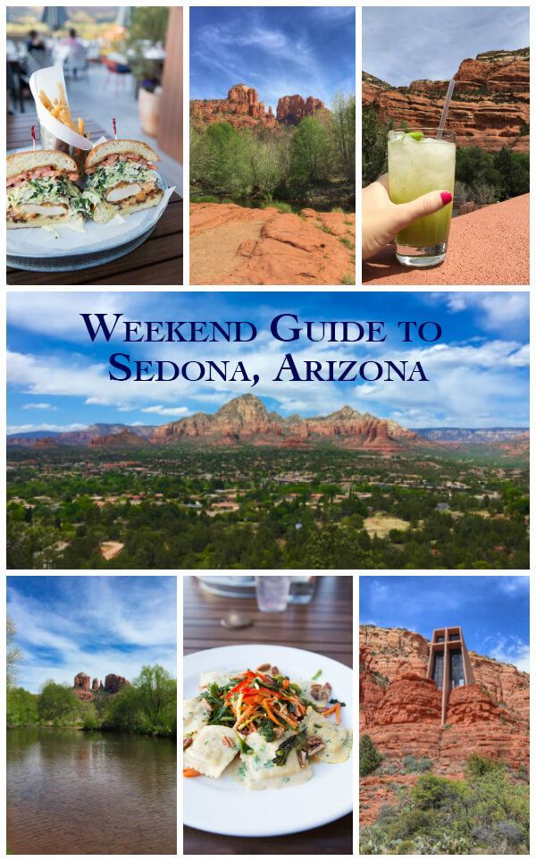 A Weekend Guide to Sedona Arizona includes the best things to eat, see and do during a short visit to Red Rock Country! The guide also includes where to stay in Sedona and tips for hiking.