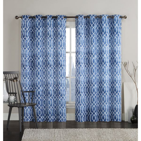 VCNY Andreas Grommet Top 96 Inch Curtain Panel Pair By VCNY. Classic  CurtainsGeometric CurtainsCurtain PanelsGreat DealsVictoria