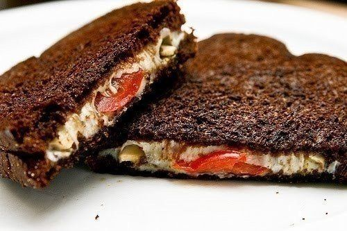 Italian sandwich grilled with cheese | Easy recipes.