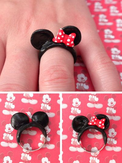 Minnie Mouse Ears by queenrocks324.deviantart.com on @deviantART