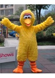 Costume de mascotte rue sésame gros oiseau jaune D...
