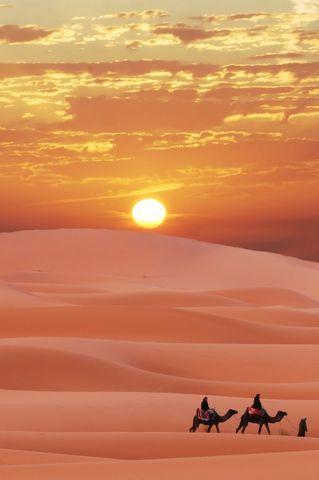 Quero caminhar no deserto