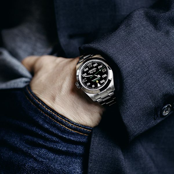 The Rolex Air-King, on the wrist of Michael Bublé.