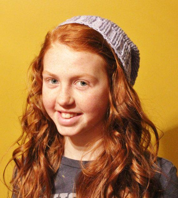 Knitted Slouchy hat hipster hat boho hat by handmadebyMarcyNTom, $10.99