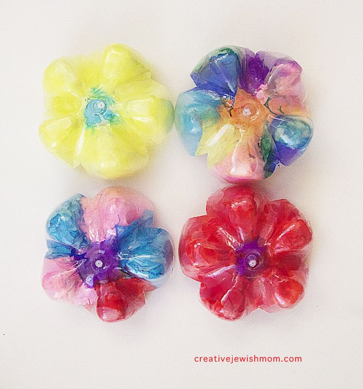 Recycled Soda Bottle Flowers For Shavuot Coolpies