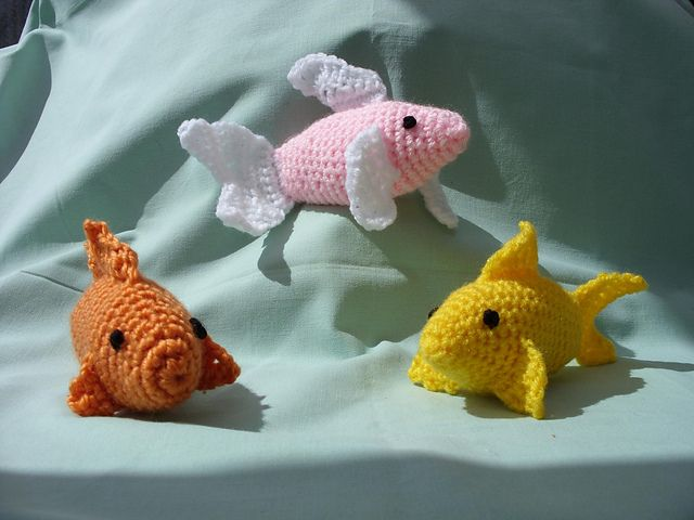 Free Amigurumi Fish Pattern : Best fish crochet patterns images crochet free