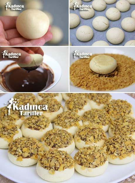 MISIR GEVREKLİ KURABİYE TARİFİ http://kadincatarifler.com/misir-gevrekli-cikolatali-kurabiye-tarifi