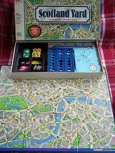 Scotland Yard : pour mister X, il s'avère toujours très difficile (et souvent fatal) de se faufiler entre les policiers de Scotland Yard !