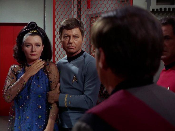 "Star Trek 3 x 5 ""Is There No Truth In Beauty ?"" Diana Muldaur as Dr Miranda Jones"