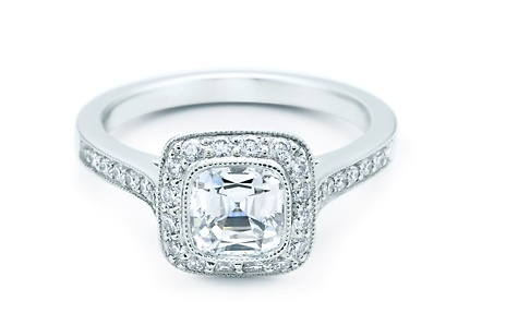 Tiffanys Legacy Cushion Cut Ring = Perfection