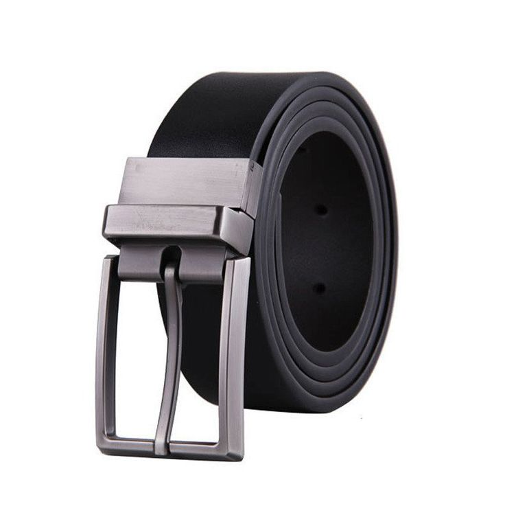 Pin Buckle Leather Mens Belts