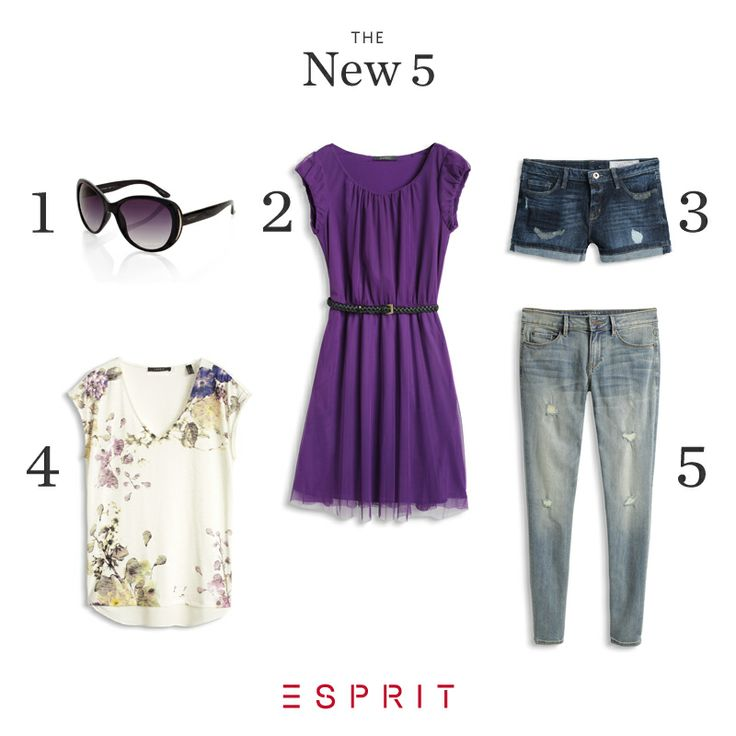 This #week's NEW 5 will get you pumped for #warmer #weather! #Esprit