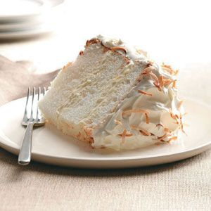 Orange-Coconut Angel Food Cake Recipe from Taste of Home -- shared by Betty Kinser of Elizabethton, Tennessee