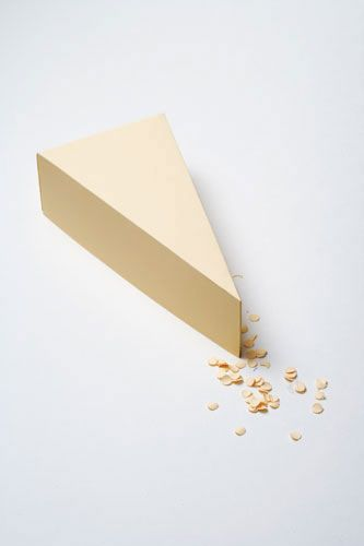 Papercraft Cover: Minimalist Paper Food Design | Jeannie Huang