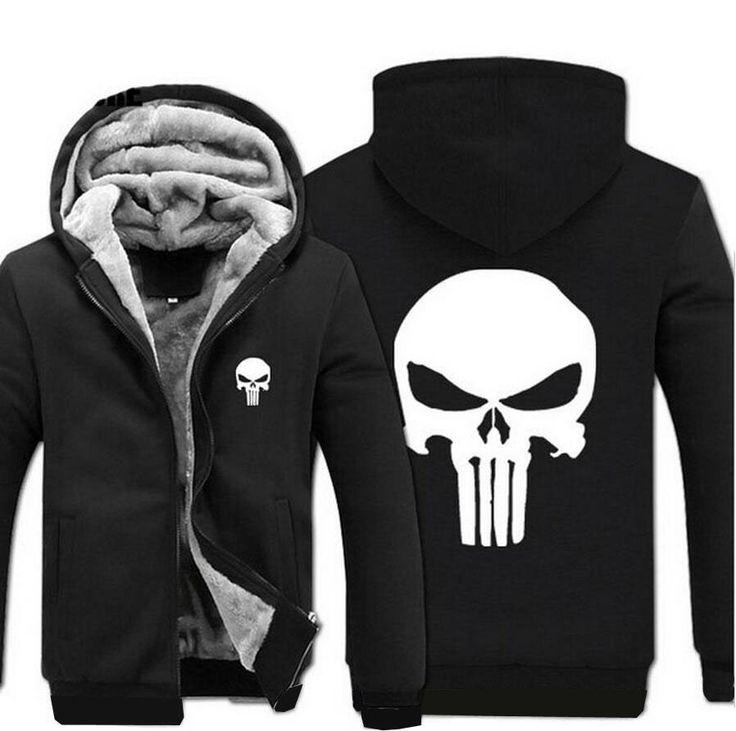 Punisher Jacket - Mens Fleece Jacket