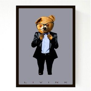 Hipster Teddy