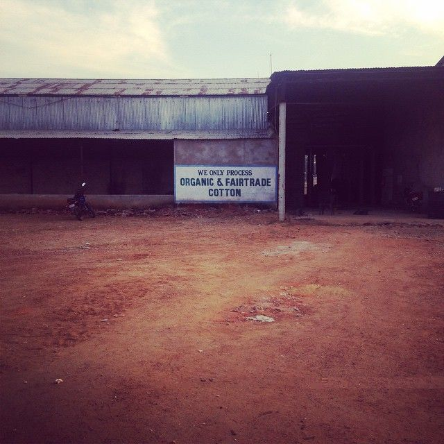 At our ginning factory where our organic fairtrade cotton seed and lint are separated. mukakids.com