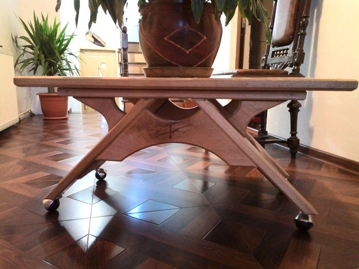 Coffee table Oak3