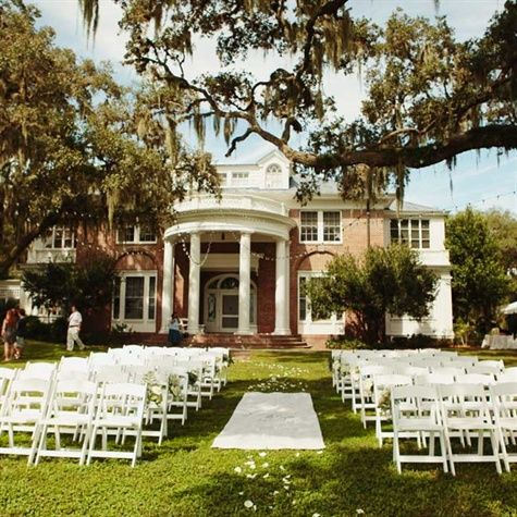 The Duncan House At Tavares FL Central Florida Wedding Venues