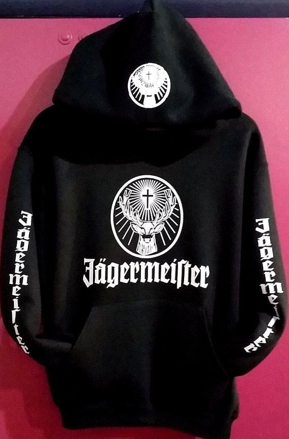 Jagermeister Pullover HoodiesNew Adults by SewFinecustomtshirts