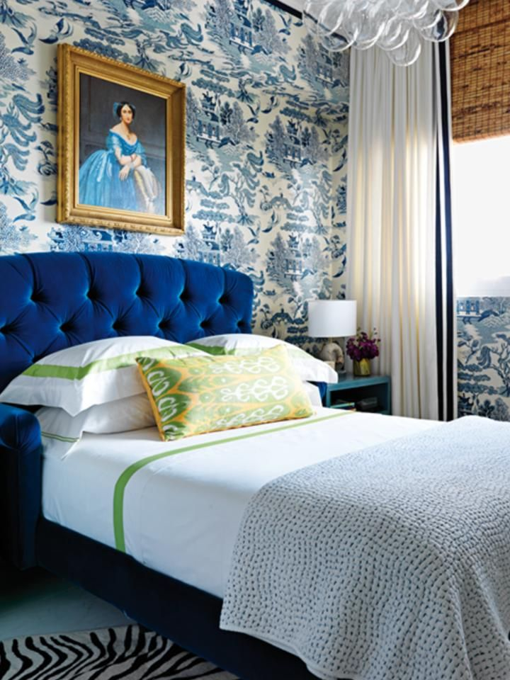 17 Best Ideas About Blue Headboard On Pinterest Navy