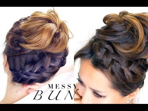 3 Easy BACK-TO-SCHOOL Hairstyles ★ Cute Hairstyle | MakeupWearables Hair Tutorial - YouTube - #hairstyle #hairstyles #makeupwearables #school