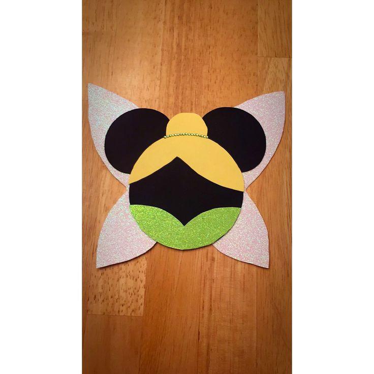 Tinker Bell Disney Door Dec