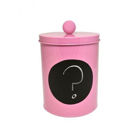 Puszka metalowa Lollipop mała różowa