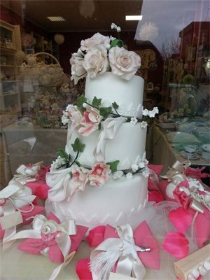 La wedding cake  : The wedding cake