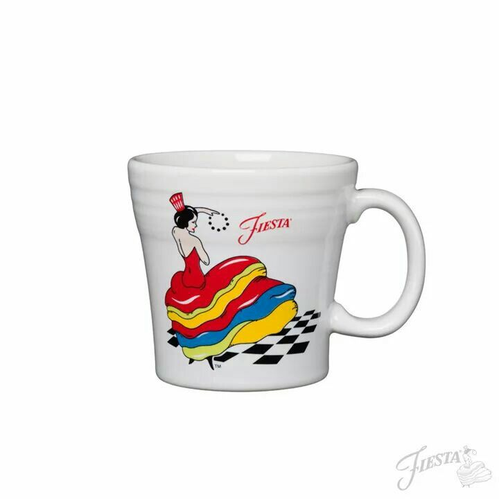 """Happy Friday! Celebrate the weekend by picking up a few of our new Dancing Lady patterns on our website:"" www.fiestafactorydirect.com 