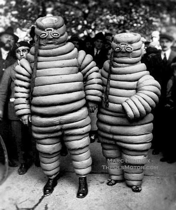 Bibelobis family - the Michelin Man's parents