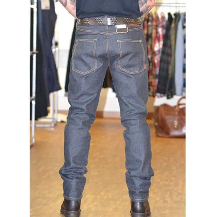 ROKKER IRON SELVEDGE RAW - FRONT