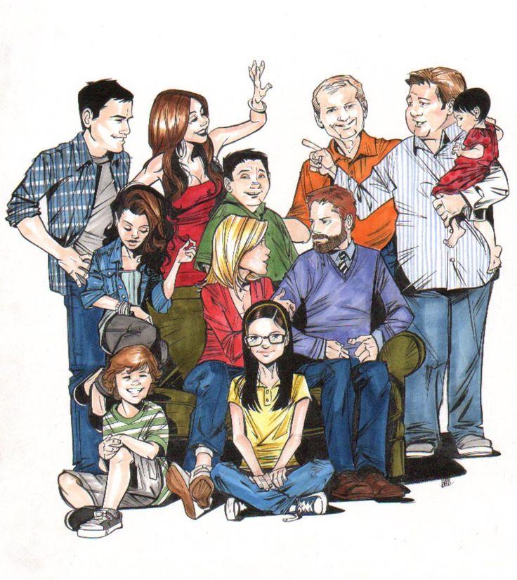 Joëlle Jones Art Blog: Modern Family