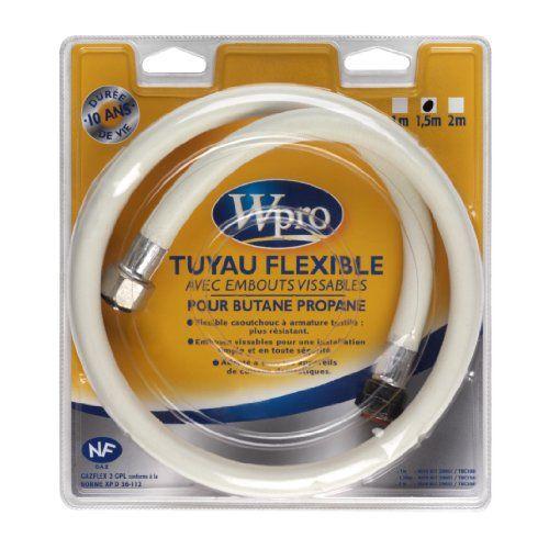 Wpro TBC158 Butane/Propane Longueur: 1,5 m: Type de gaz : Butane, Propane. Longeur : 1,5 m Garantie : 10 ans L'article Wpro TBC158…