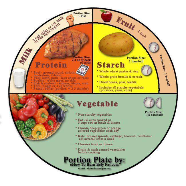 Portion Plate #Fitspo #Fitsporation #WeightLoss