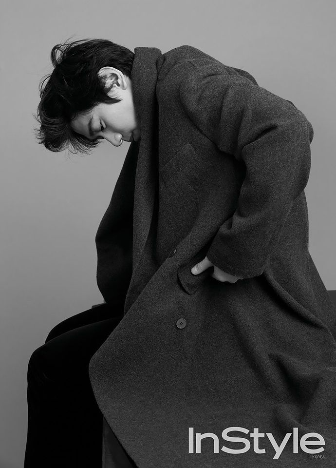 Sung Joon's Black and White Shots for InStyle Korea's December 2015 Issue | Couch Kimchi