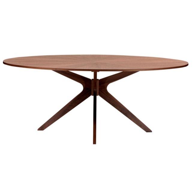 Star Matbord - Valnöt - TheHome - Möbler på nätet