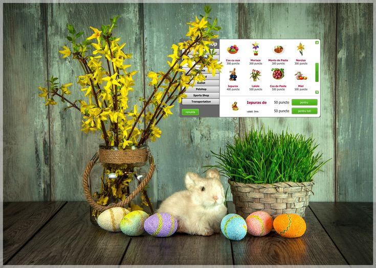 As we used to you every year, the Znappy Team has prepared a series of gifts for Easter holidays. Come on www.doizece.ro and get them!   http://www.doizece.ro/ #HappyEaster #ZnappyGames