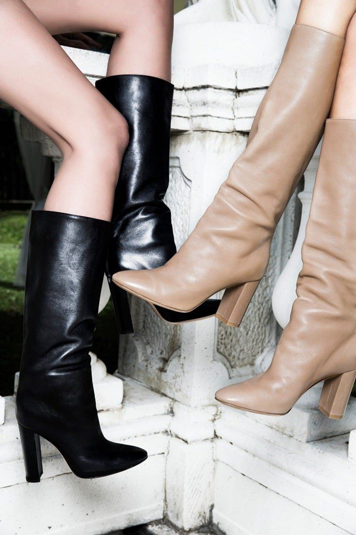 Gianvito Rossi S Best High Heels Boots Pumps And Sandals Leather Boots Outfit Black Leather Boots Outfit Boots