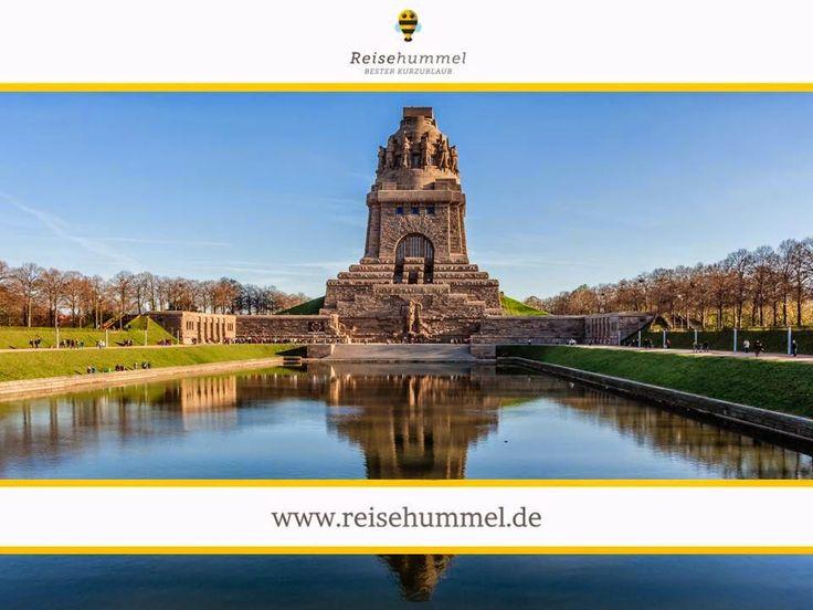 Leipzig Denkmal Völkerschlacht Kurzurlaub Reisehummel