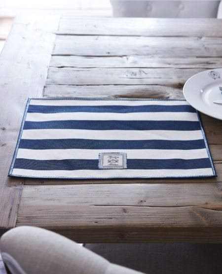 Breton Basic Stripe Placemat €9,95