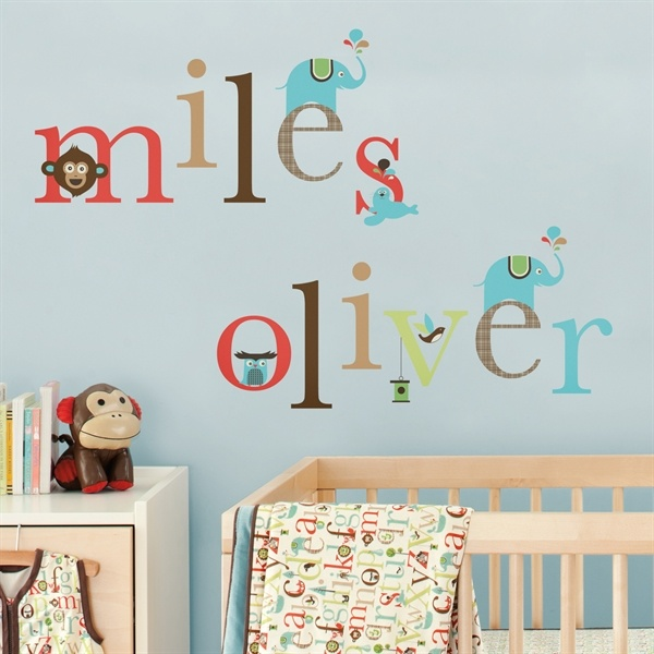 Baby Lurve. Skip Hop Alphabet Friends Wall Stickers