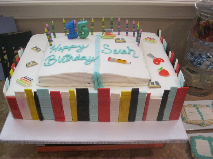 Book Shaped Cake Images : Book shaped cake My cake decorating madness! Pinterest