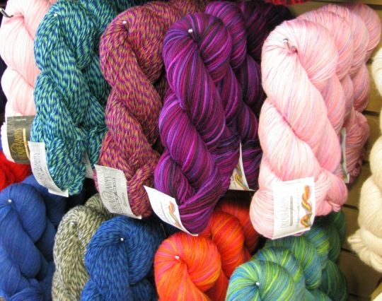 Beautiful wool in many colours and price points