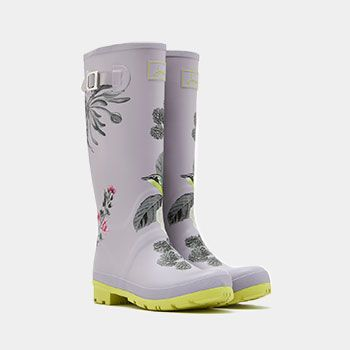 Joules Floral Printed Wellies   For festivals, the commute or simply for a trip into town - these wellies tick all the boxes.