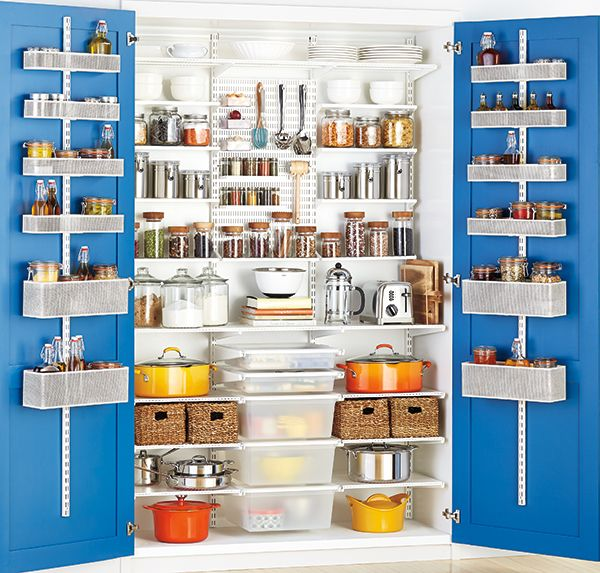 Kitchen Pantry Storage Solutions: Kitchen White, Pantry And Kitchens On Pinterest