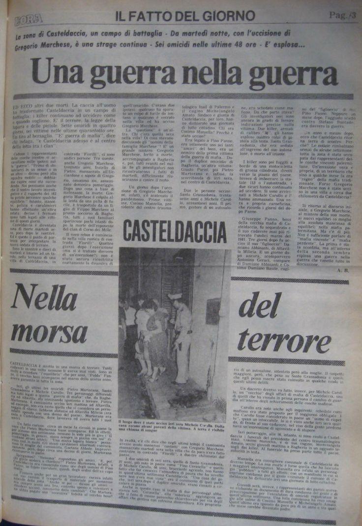 7 agosto 1982, L'Ora, pagina