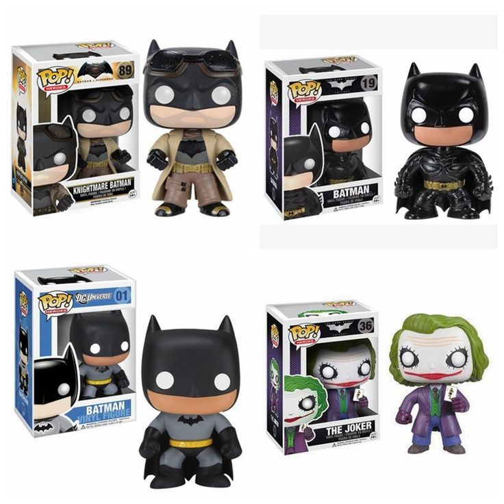 Funko POP Batman& Joker Toy Bat Man Action Figures Doll Toy #>=#>=#>=#>=#> Click on the pin to check out discount price, color, size, shipping, etc. Save and like it!