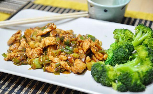 Sapori in Zona: Pollo alle arachidi con broccoli (4 blocchi)