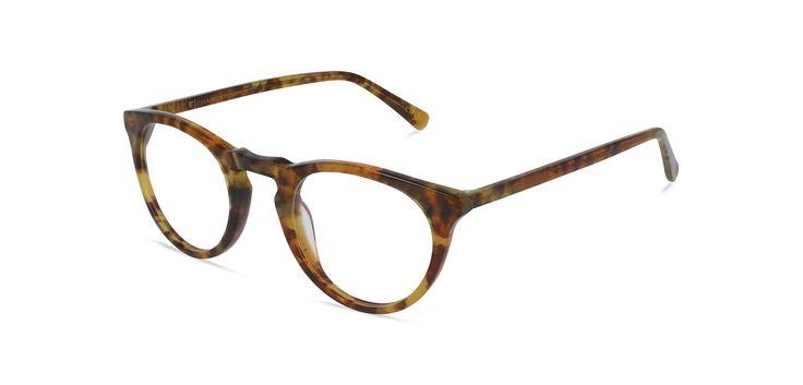 Ivy | Handgemaakte acetaat bril €38,- incl. glazen | Charlie Temple